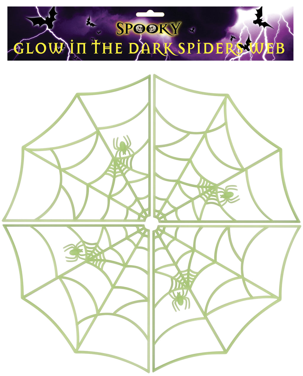Glow In The Dark Spiders Web