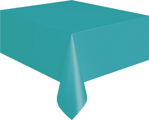 Caribbean Teal Rectangular Tablecover