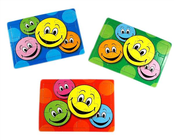 6 Smiley Face Jigsaw Puzzles
