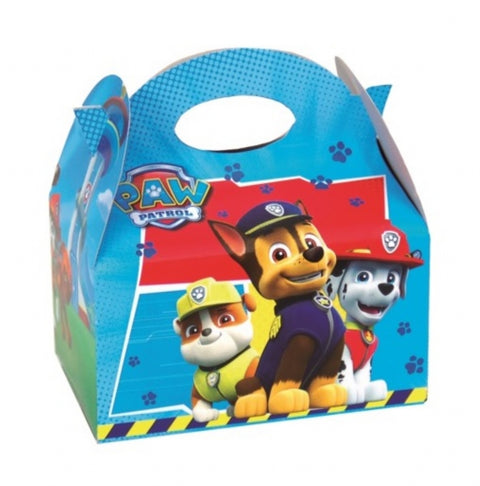 6 Blue Paw Patrol Party Boxes