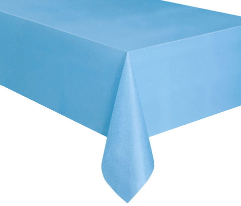 Powder Blue Rectangular Tablecover