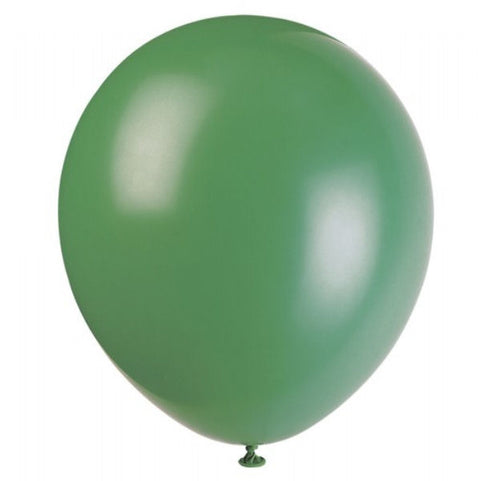 "72 Forest Green 5"" Latex Balloons"