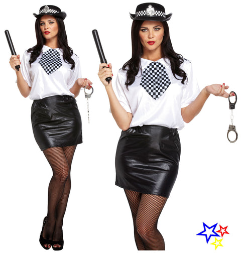 Adult Sexy Policewoman Costume