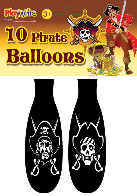 10 Pirate Balloons