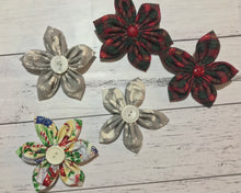 Christmas hair bows 2