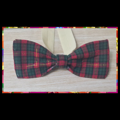 Christmas tartan with gold touch!