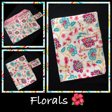 Floral Nappy Wallet