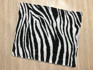 Zebra stripes Face washer