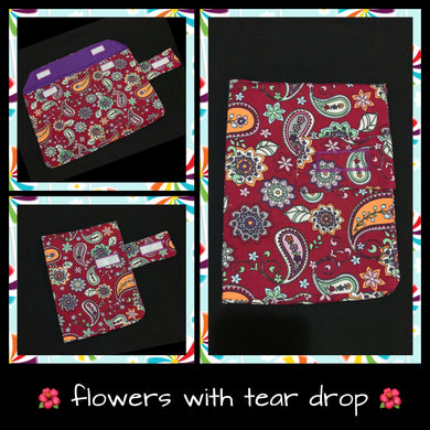 Flowers & hippie tear drop