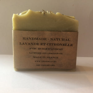 That Lavender one- Lavender and Lemongrass Soap