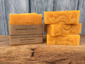 That Goat's Milk One - Carrot and Goat's Milk Soap
