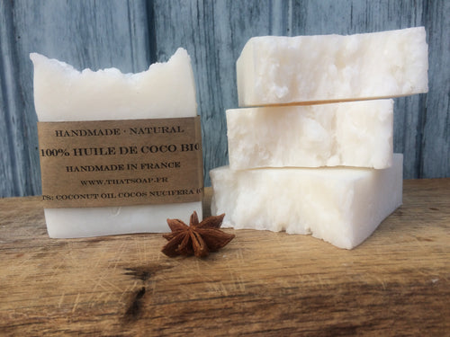 That 100% Coconut Oil one - 100% Coconut Oil Soap