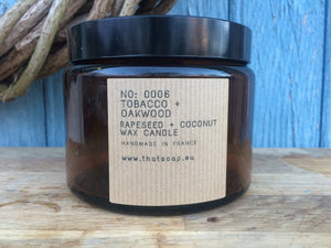 No:0006 Tobacco + Oakwood