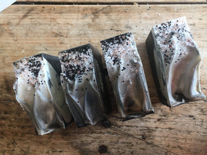 That Charcoal one - Vanilla + Star Anise Bar