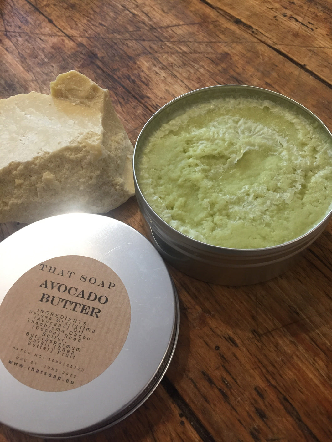 Avocado Butter - The Green Super Butter