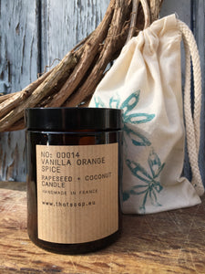 No: 0014 Vanilla Orange Spice