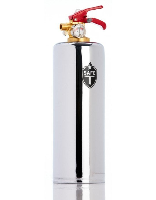 Safe-T Extinguisher - Chrome