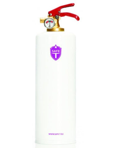 Safe-T Extinguisher - White