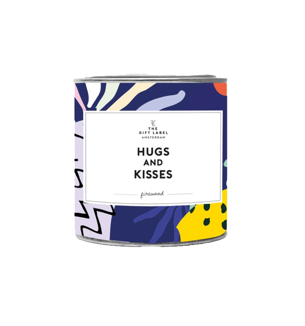 Geurkaars hugs and kisses groot jasmin vanilla