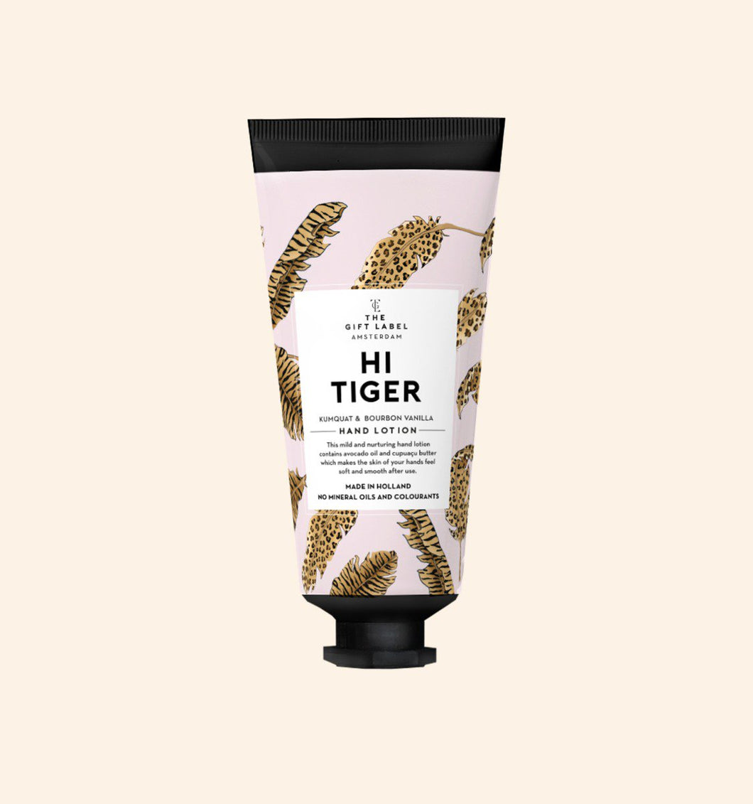 Hand Lotion Tube 'Hi Tiger'