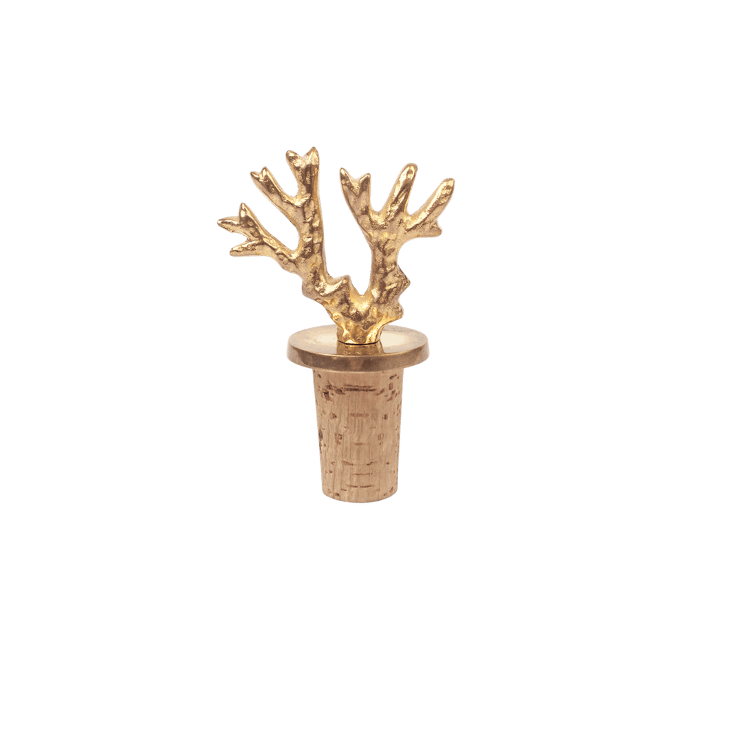 Coral Bottle Stopper