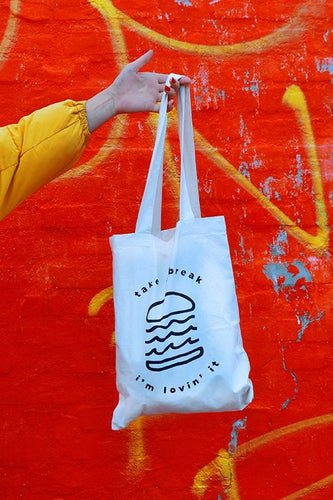Hamburger Totebag