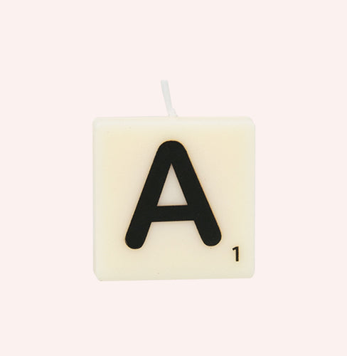 Letter Candle - A