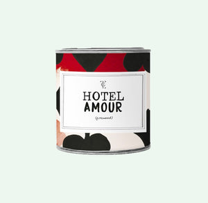Big Candle Tin - Hotel amour