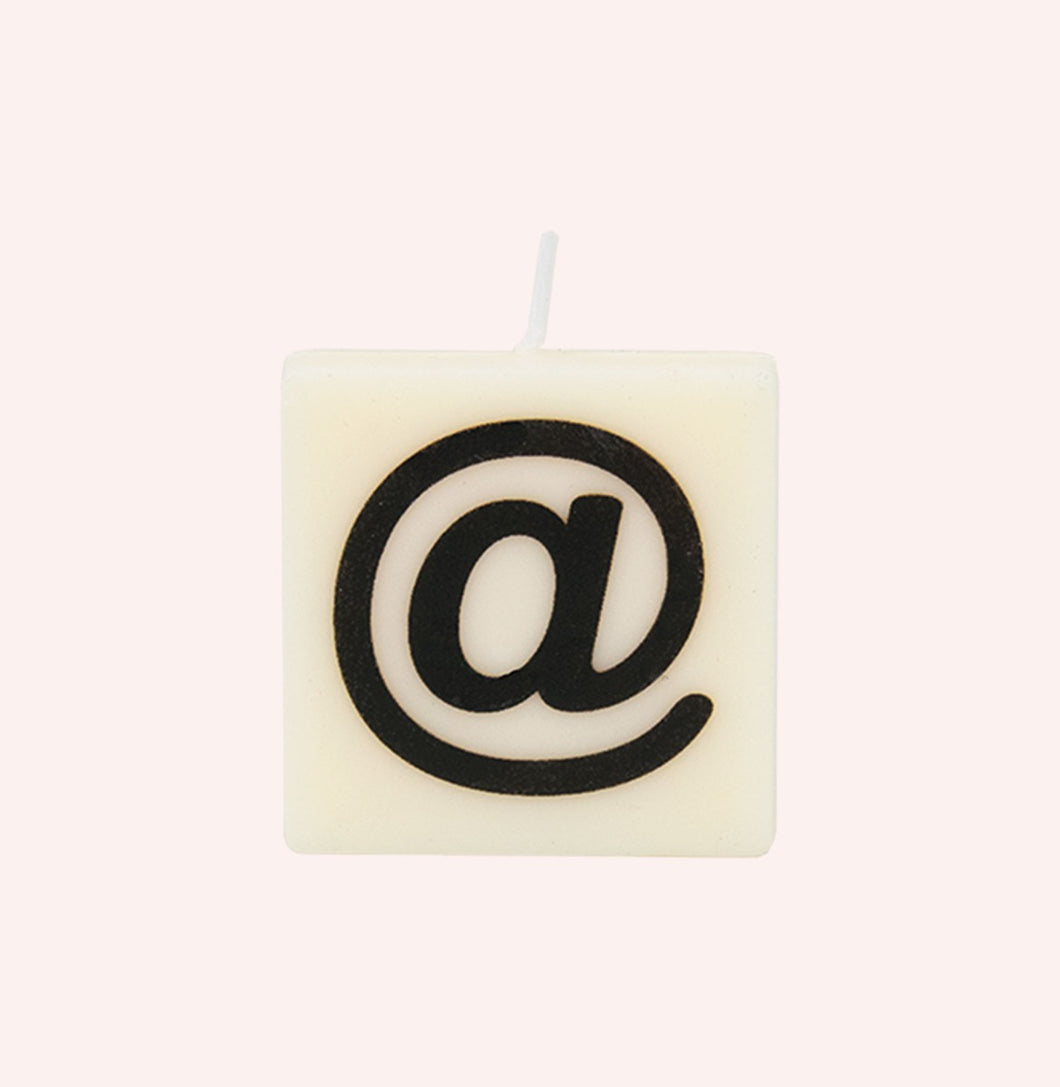 Letter Candle - @
