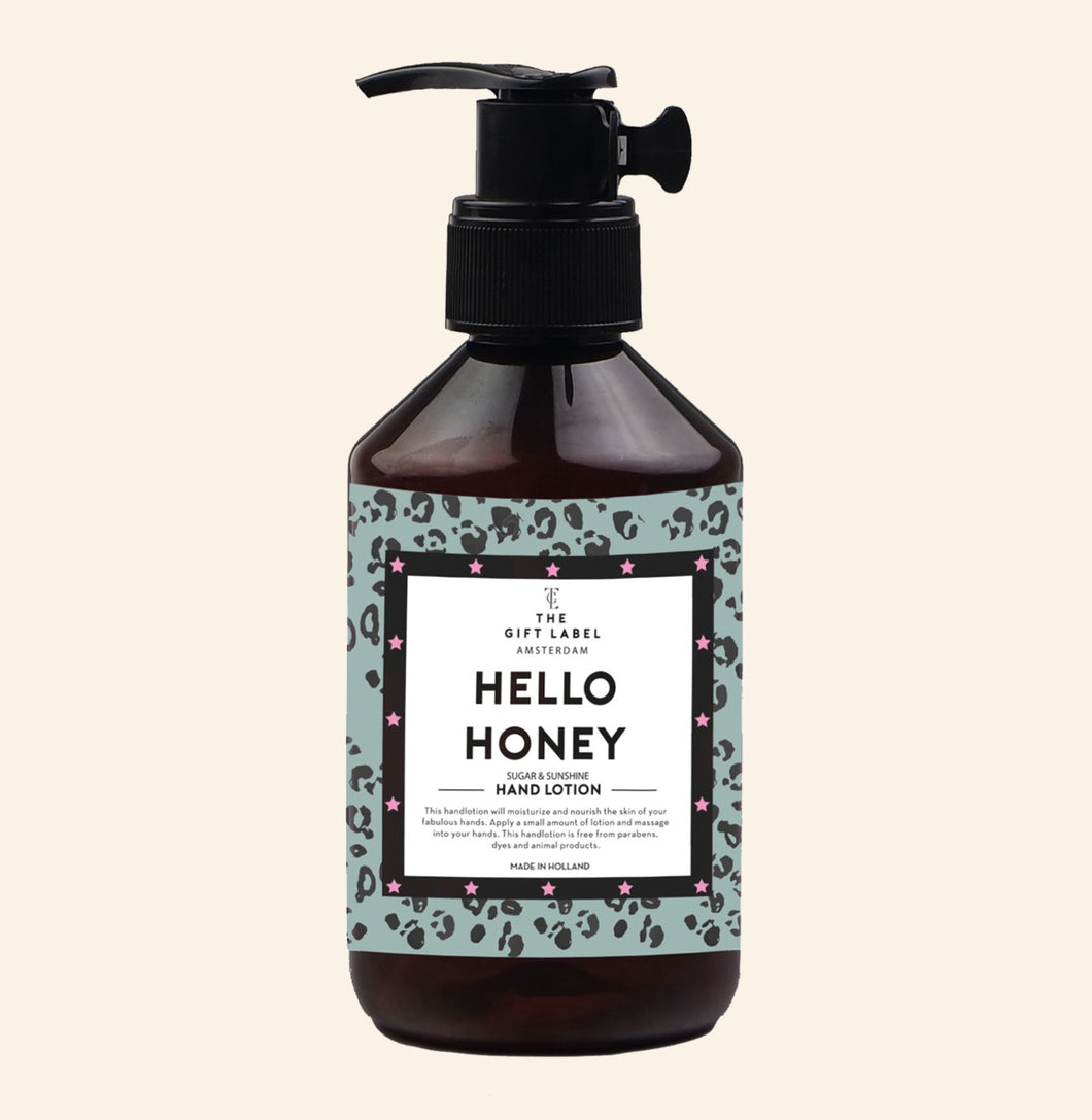 Hand lotion 'Hello honey'
