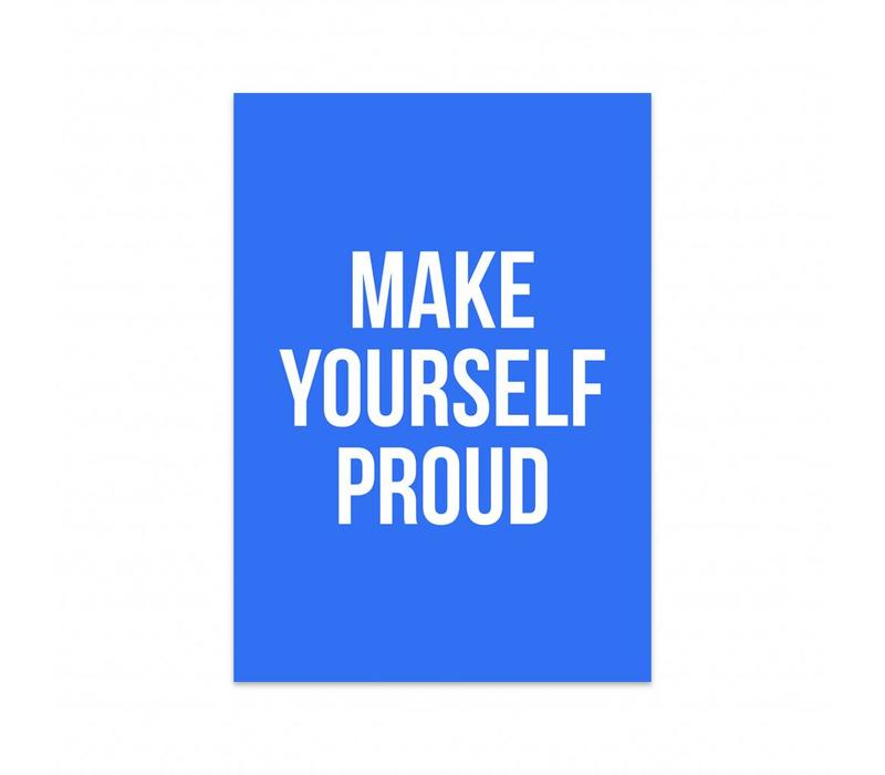 Card make yourself proud
