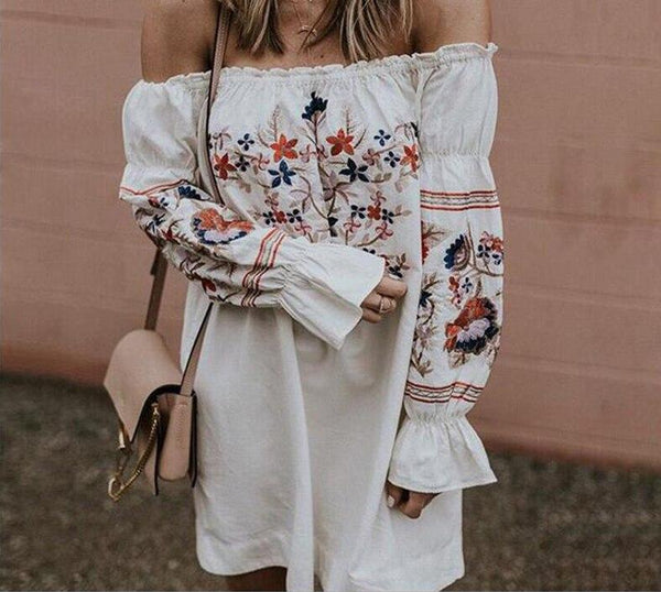 Naomi Off Shoulder Dress