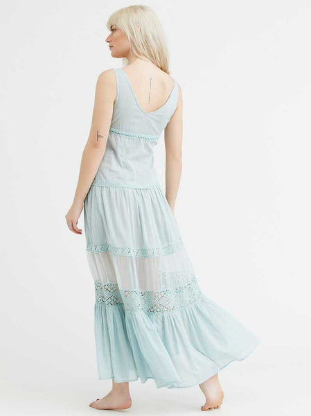 Marry me summer maxi dress - Boho chic ,fashion clothing, boho dresses - Blue Nana