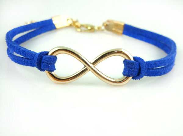 To Infinity And Beyond Bracelet - Boho chic ,fashion clothing, boho dresses - Blue Nana
