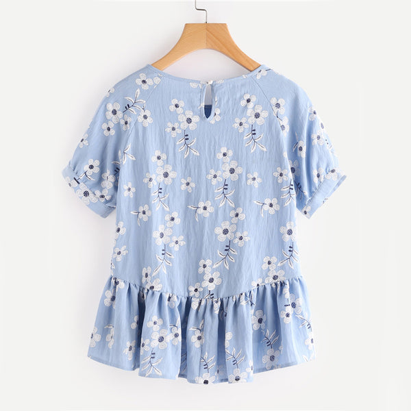 Blue Navigator Top - Boho chic ,fashion clothing, boho dresses - Blue Nana