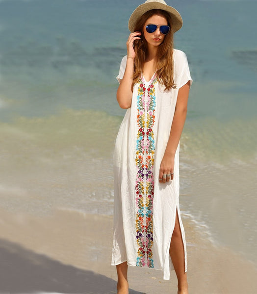 Colorful Summer Long Dress