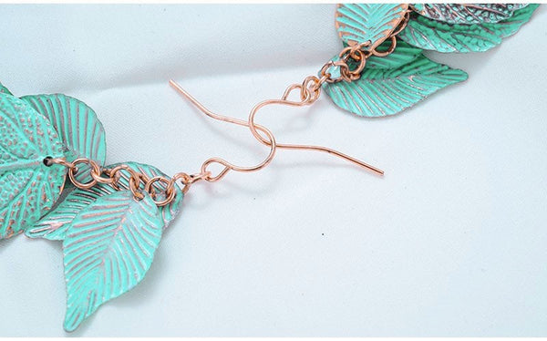 Blue Elf Earrings - Boho chic ,fashion clothing, boho dresses - Blue Nana