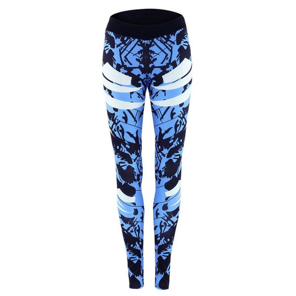 Feeling Amazing Leggings - Boho chic ,fashion clothing, boho dresses - Blue Nana