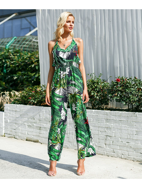 Forever Summer Jumpsuit - Boho chic ,fashion clothing, boho dresses - Blue Nana