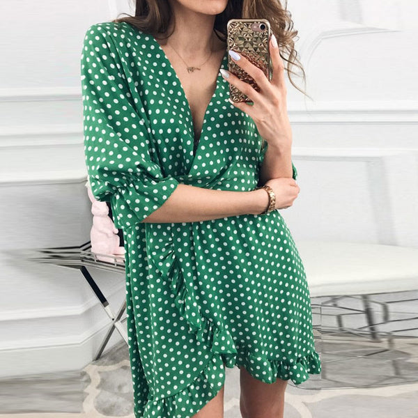 GUMRUN Polka Dot Dress