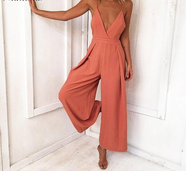 Summer Bow Jumpsuit