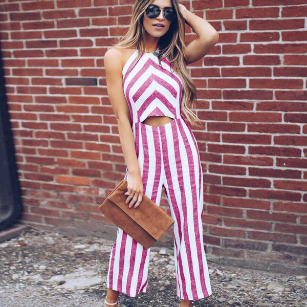 Becky Backless Jumpsuit