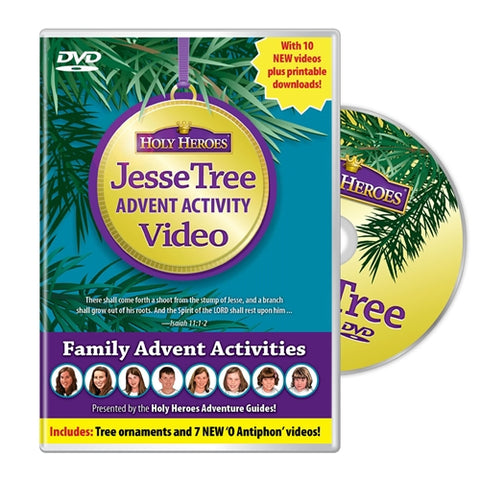Holy Heroes Jesse Tree Advent Activity DVD *3rd Edition*