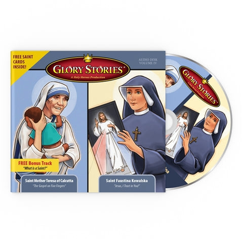 St. Teresa of Calcutta & St. Faustina Kowalska: Glory Stories CD Vol 4