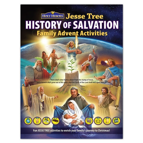 "Jesse Tree ""History of Salvation"" Advent Activity Book"
