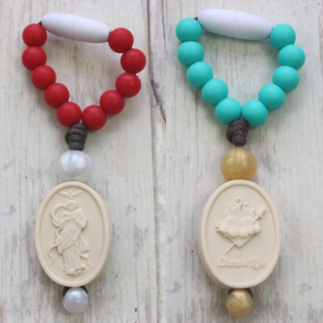 Our Lady Undoer of Knots/Immaculate Heart of Mary Mini Decade - red