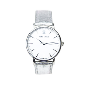 Premium Vegan Watch - Classic Silver™