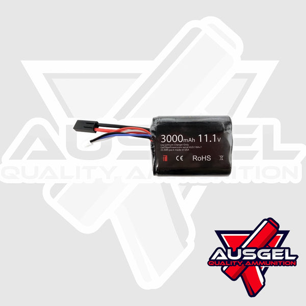 TITAN 3000mAh 11.1v Brick Tamiya Battery