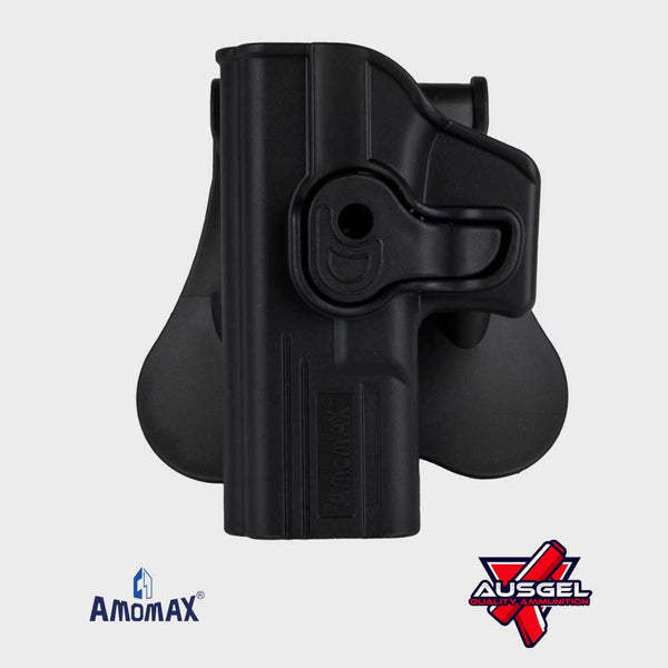 Amomax Left Hand Glock Holster (Black)