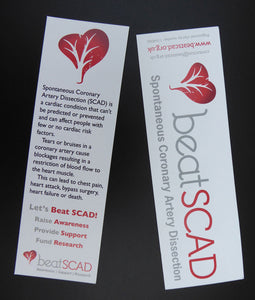 Beat SCAD Bookmark